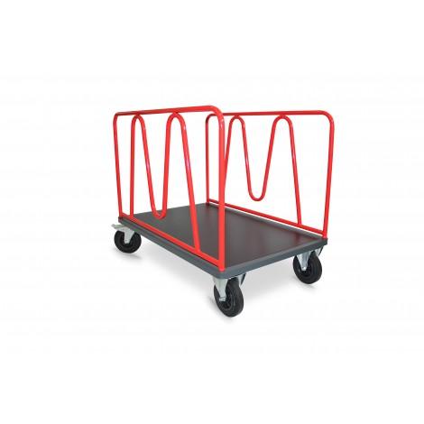 Chariot magasin, 2 ridelles en M, 500kg, 800x600mm